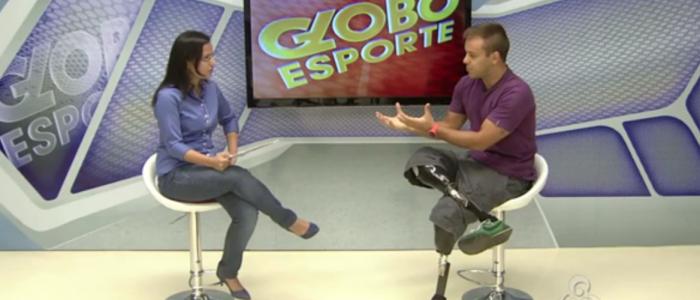 Pauê no Globo Esporte