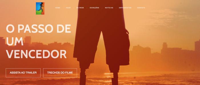 Para-atleta lança Portal para divulgar seu documentário