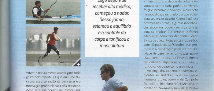 Pauê é destaque na Revista Endorfina