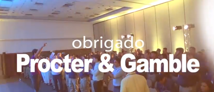 Pauê é o palestrante de convenção da Procter Gamble