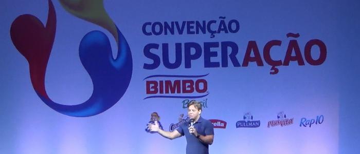 Pauê é o palestrante da Convenção Nacional BIMBO