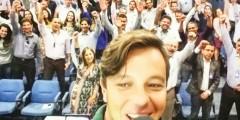 Banco do Brasil contrata Pauê para palestra motivacional