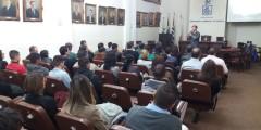 Pauê palestra em Santos para Interagrícola