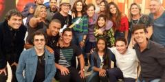 Pauê no Encontro com Fátima Bernardes