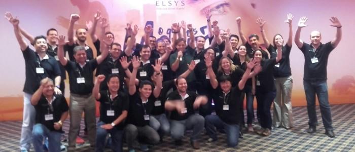 Pauê realiza 2 palestras para a empresa Elsys