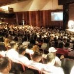 Pauê palestra no Teatro Municipal de Goiás