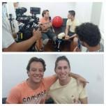 Pauê entrevista goleiro da Chapecoense para o Encontro com Fátima Bernardes